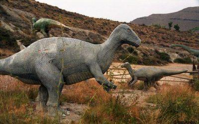 Ruta de los dinosaurios desde Yanguas